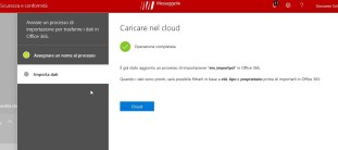 Office 365: importazione PST da disco locale a Exchange Online 5